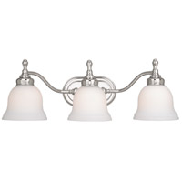 Vaxcel CL-VLD003CH Cologne 3 Light 23 inch Chrome Vanity Light Wall Light