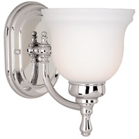 Vaxcel CL-VLU001CH Cologne 1 Light 6 inch Chrome Vanity Light Wall Light
