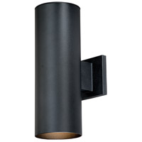Chiasso 2 Light 14 inch Textured Black Outdoor Wall Light