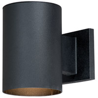 Vaxcel CO-OWD050TB Chiasso 1 Light 7 inch Textured Black Outdoor Wall