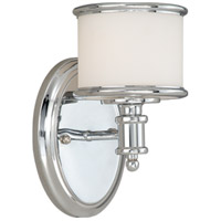 Chrome Steel Carlisle Bathroom Vanity Lights