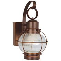 Chatham LED 12 inch Burnished Bronze Outdoor Wall Light
