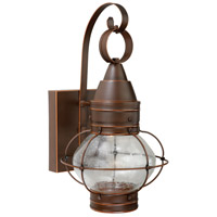 Chatham LED 14 inch Burnished Bronze Outdoor Wall Light