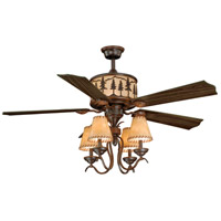 Vaxcel F0011 Yosemite 56 inch Burnished Bronze with Rosewood/Dark Walnut Blades Ceiling Fan alternative photo thumbnail