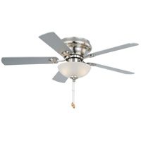 Vaxcel F0023 Expo 42 inch Satin Nickel with Maple/Silver Blades Ceiling Fan