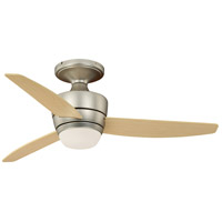 Vaxcel F0032 Adrian 44 inch Brushed Nickel with Maple Blades Ceiling Fan