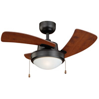 Vaxcel F0040 Wolcott 36 inch New Bronze with Applewood Blades Ceiling Fan