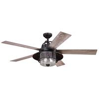 Vaxcel F0044 Charleston 56 inch New Bronze with Driftwood/Dark Maple Blades Ceiling Fan