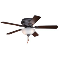 Vaxcel F0059 Expo 52 inch Nobel Bronze with Dark Bronze and Driftwood Blades Ceiling Fan