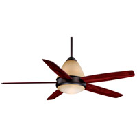 Fresco 52 inch Oil Burnished Bronze with Rosewood Blades Ceiling Fan