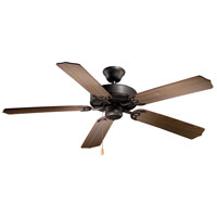 Vaxcel FN52288NB Medallion 52 inch Noble Bronze with Walnut/Distressed Pine Blades Ceiling Fan
