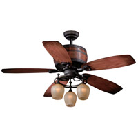 Vaxcel FN52455OBB Cabernet 52 inch Oil Burnished Bronze with Walnut/Charred Oak Blades Ceiling Fan alternative photo thumbnail