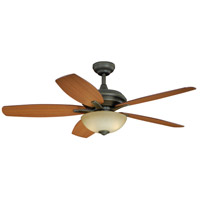 Vaxcel FN52998OR Valencia 52 inch Vintage Bronze with Walnut/Teak Blades Ceiling Fan