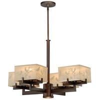Vaxcel H0041 Aviary 5 Light 29 inch Venetian Bronze Chandelier Ceiling Light