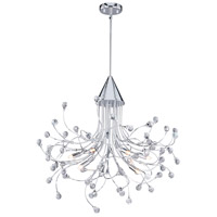 Vaxcel H0226 Astrid 9 Light 29 inch Chrome Chandelier Ceiling Light