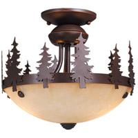 Vaxcel LK55512BBZ-C Yosemite 2 Light Burnished Bronze Convertible Light Kit