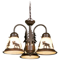 Vaxcel LK55616BBZ-C Yellowstone 3 Light Burnished Bronze Convertible Light Kit