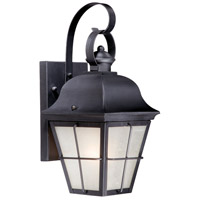 New Haven 1 Light 18 inch Dark Bronze Outdoor Wall Light