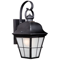 New Haven 1 Light 22 inch Dark Bronze Outdoor Wall Light