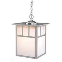 Vaxcel OD14696ST Mission 1 Light 9 inch Stainless Steel Outdoor Pendant