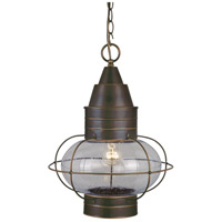 Vaxcel OD21836BBZ Chatham 1 Light 13 inch Burnished Bronze Outdoor Pendant