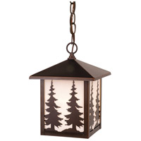 Vaxcel OD33486BBZ Yosemite 1 Light 8 inch Burnished Bronze Outdoor Pendant