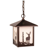 Vaxcel OD33586BBZ Bryce 1 Light 8 inch Burnished Bronze Outdoor Pendant