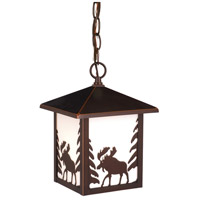 Vaxcel OD36986BBZ Yellowstone 1 Light 8 inch Burnished Bronze Outdoor Pendant