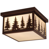 Vaxcel OF33412BBZ Yosemite 2 Light 12 inch Burnished Bronze Outdoor Ceiling