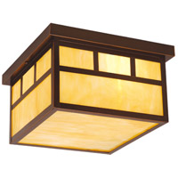 Vaxcel OF37211BBZ Mission 2 Light 12 inch Burnished Bronze Outdoor Ceiling