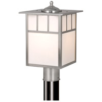 Vaxcel OP14695ST Mission 1 Light 15 inch Stainless Steel Outdoor Post