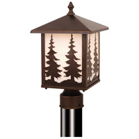 Vaxcel OP33485BBZ Yosemite 1 Light 14 inch Burnished Bronze Outdoor Post