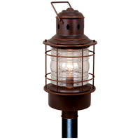 Vaxcel OP37005BBZ Hyannis 1 Light 23 inch Burnished Bronze Outdoor Post