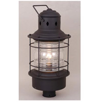 Vaxcel OP37005TB Hyannis 1 Light 23 inch Textured Black Outdoor Post