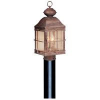 Vaxcel OP39595RBZ Revere 3 Light 21 inch Royal Bronze Outdoor Post