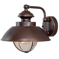 Vaxcel OW21501BBZ Harwich 1 Light 10 inch Burnished Bronze Outdoor Wall Light