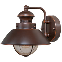Vaxcel OW21581BBZ Harwich 1 Light 8 inch Burnished Bronze Outdoor Wall Light