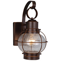 Vaxcel OW21861BBZ Chatham 1 Light 12 inch Burnished Bronze Outdoor Wall Light