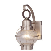Vaxcel OW21861BN Chatham 1 Light 12 inch Brushed Nickel Outdoor Wall Light