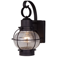 Vaxcel OW21861TB Chatham 1 Light 12 inch Textured Black Outdoor Wall Light