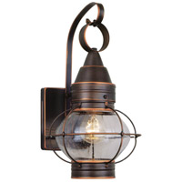 Vaxcel OW21881BBZ Chatham 1 Light 14 inch Burnished Bronze Outdoor Wall Light