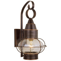 Vaxcel OW21891BBZ Chatham 1 Light 18 inch Burnished Bronze Outdoor Wall Light