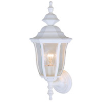Vaxcel OW24381TW Birchard 1 Light 18 inch Textured White Outdoor Wall