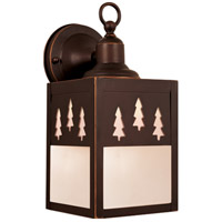 Vaxcel OW24953BBZ Yosemite 1 Light 11 inch Burnished Bronze Outdoor Wall