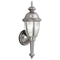 Vaxcel OW3112BN Capitol 1 Light 16 inch Brushed Nickel Outdoor Wall
