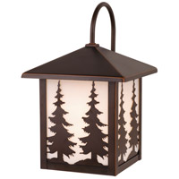 Vaxcel OW33483BBZ Yosemite 1 Light 13 inch Burnished Bronze Outdoor Wall Light