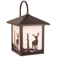 Vaxcel OW33583BBZ Bryce 1 Light 13 inch Burnished Bronze Outdoor Wall