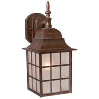 Vaxcel OW36763RBZ Vista 1 Light 15 inch Royal Bronze Outdoor Wall