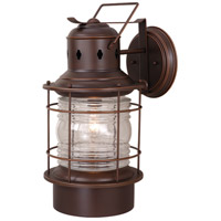 Vaxcel OW37001BBZ Hyannis 1 Light 22 inch Burnished Bronze Outdoor Wall