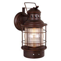 Vaxcel OW37051BBZ Hyannis 1 Light 12 inch Burnished Bronze Outdoor Wall